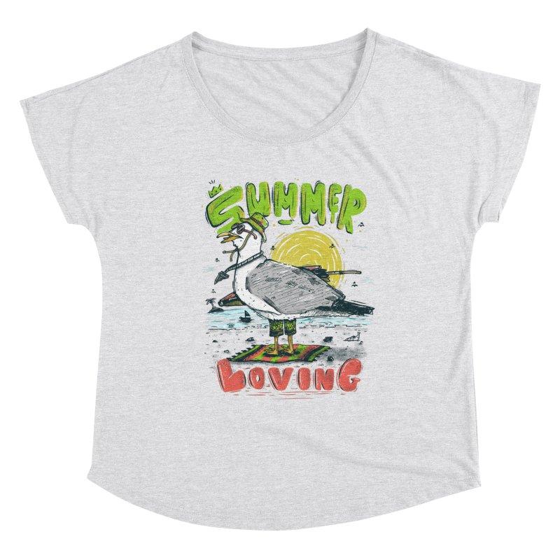 Summer Loving Women's Dolman Scoop Neck by effect14's Artist Shop