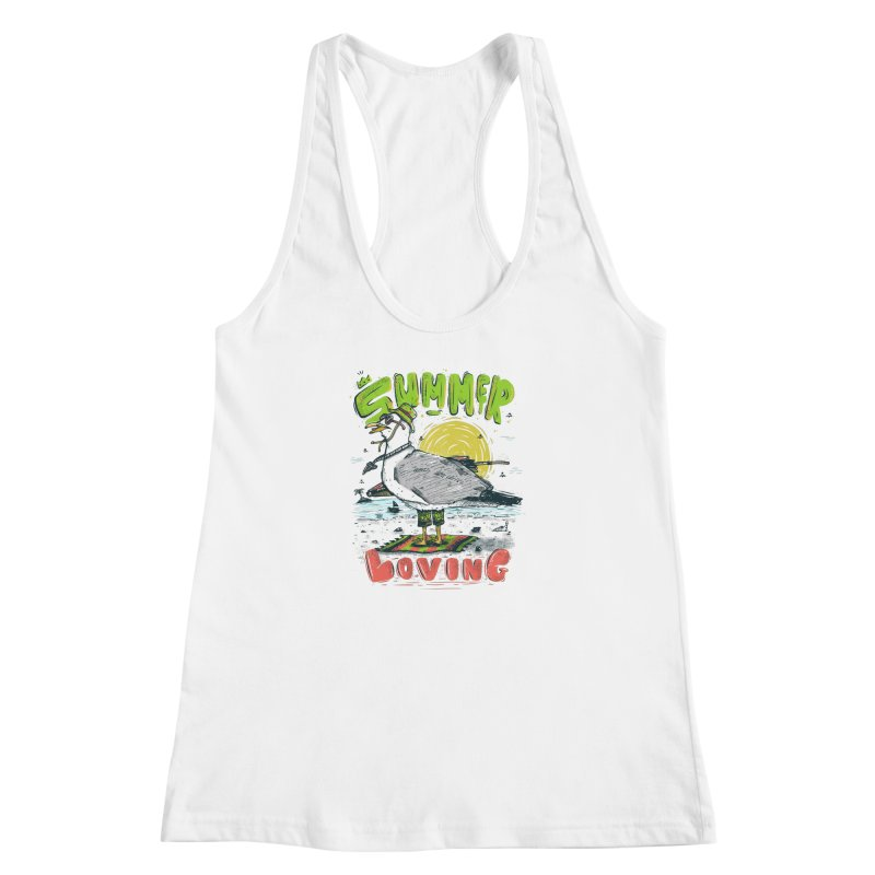 Summer Loving Women's Racerback Tank by effect14's Artist Shop