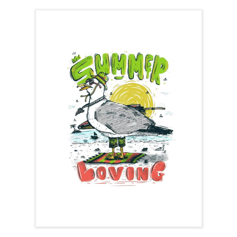 Summer Loving Home Fine Art Print by effect14's Artist Shop