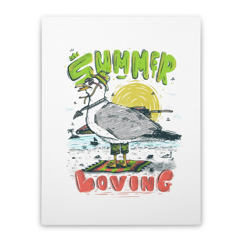 Summer Loving Home Stretched Canvas by effect14's Artist Shop