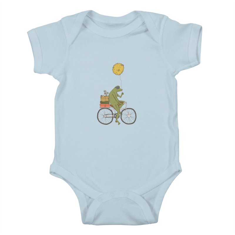 Promenade Kids Baby Bodysuit by Eggplantation's Artist Shop