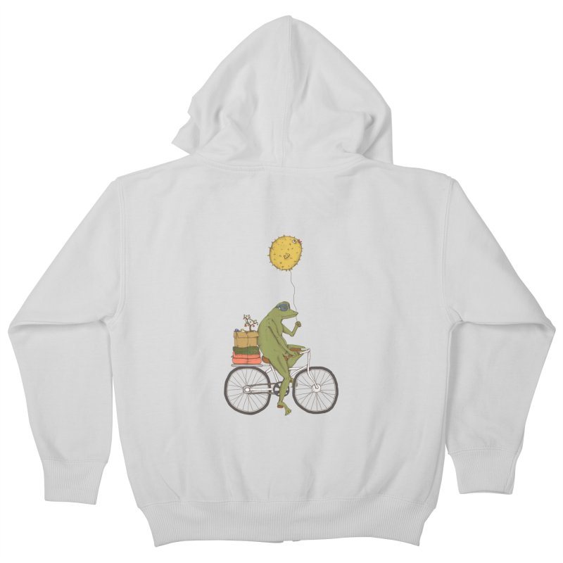 Promenade Kids Zip-Up Hoody by Eggplantation's Artist Shop