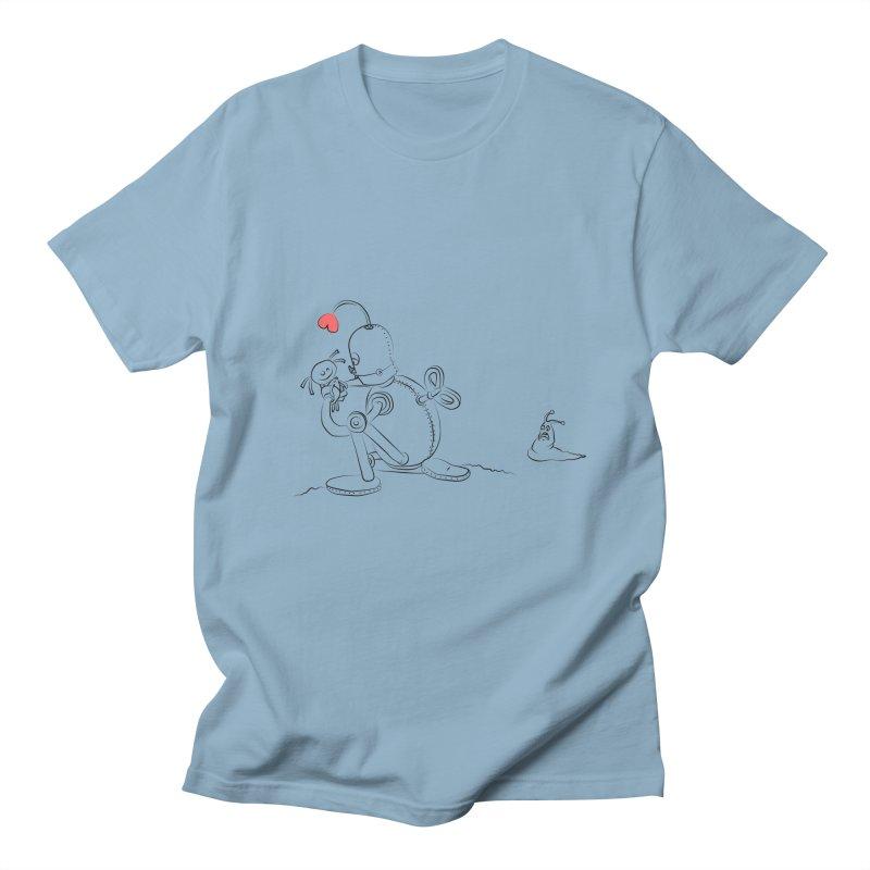 Kiss me Men's T-shirt by Eggplantation's Artist Shop