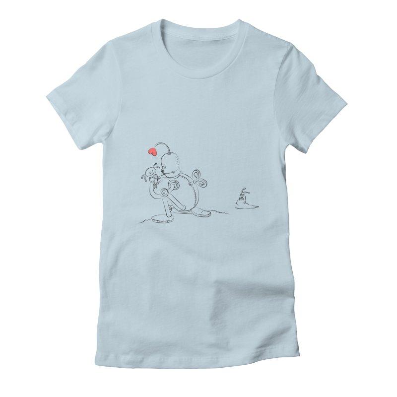 Kiss me Women's T-Shirt by Eggplantation's Artist Shop