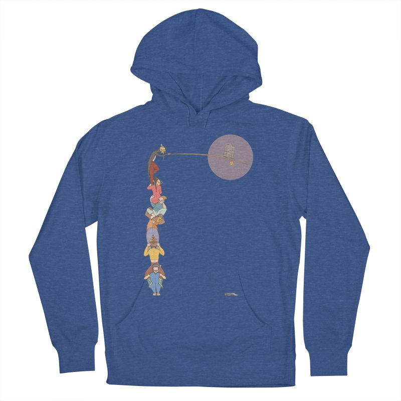 Tall News Men's Pullover Hoody by Eggplantation's Artist Shop