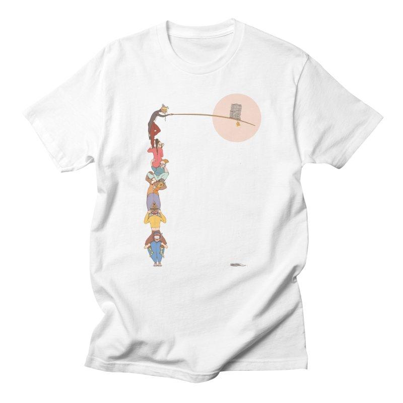 Tall News Men's T-Shirt by Eggplantation's Artist Shop