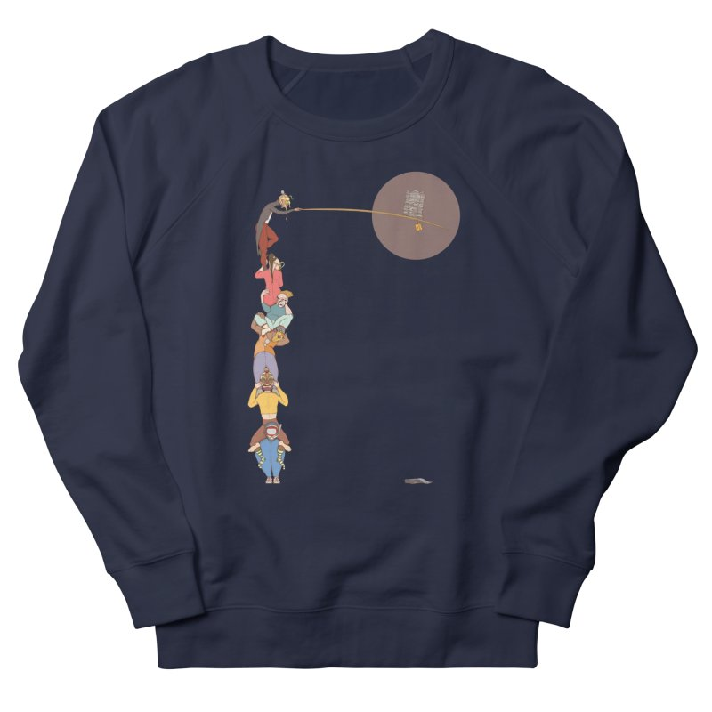 Tall News Women's Sweatshirt by Eggplantation's Artist Shop