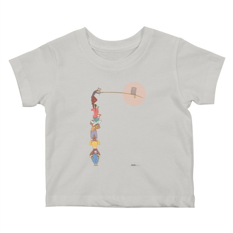 Tall News Kids Baby T-Shirt by Eggplantation's Artist Shop
