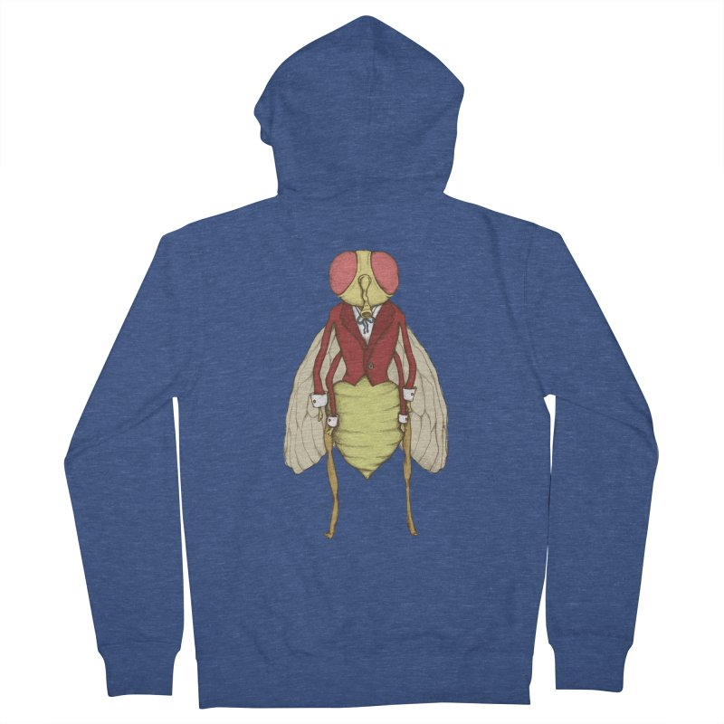 The Fly in Suit Women's Zip-Up Hoody by Eggplantation's Artist Shop