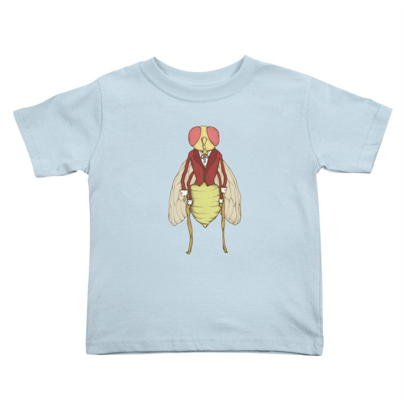 The Fly in Suit Kids Toddler T-Shirt by Eggplantation's Artist Shop