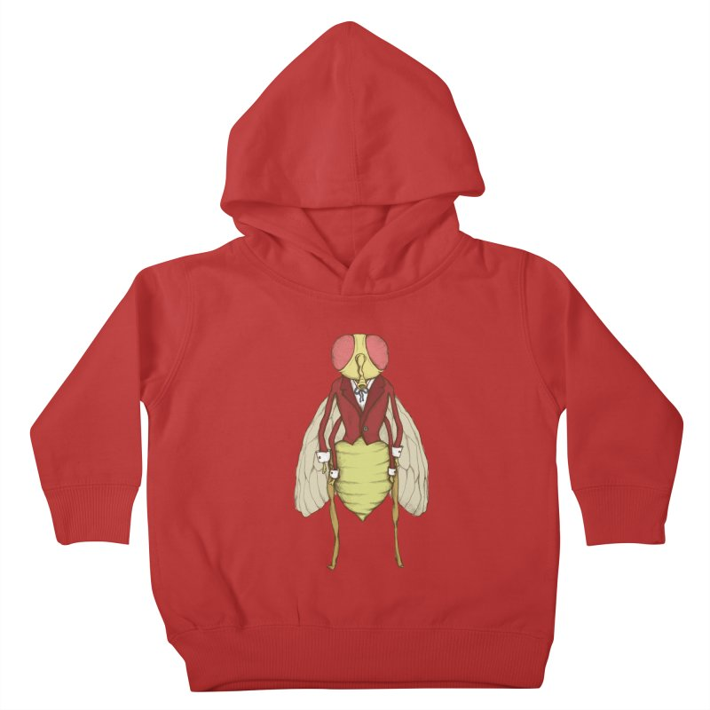 The Fly in Suit Kids Toddler Pullover Hoody by Eggplantation's Artist Shop