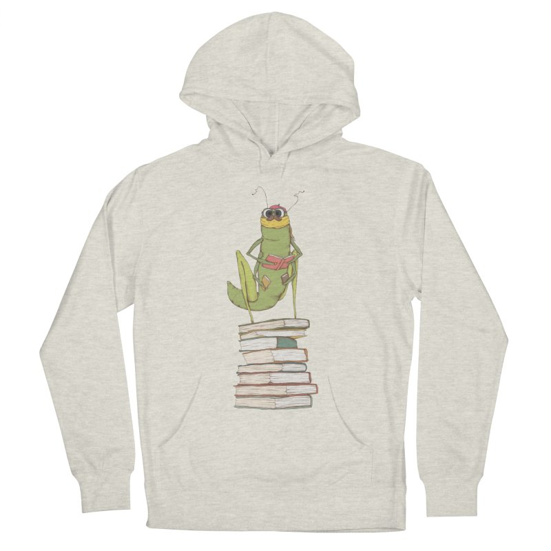 Intellectual Grasshopper Women's Pullover Hoody by Eggplantation's Artist Shop