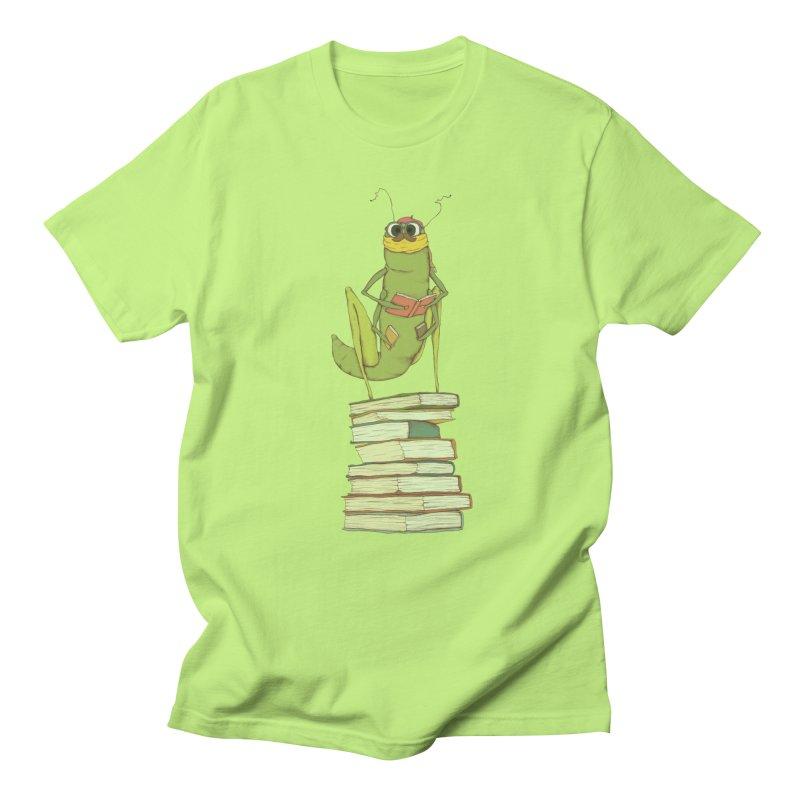 Intellectual Grasshopper Men's T-Shirt by Eggplantation's Artist Shop