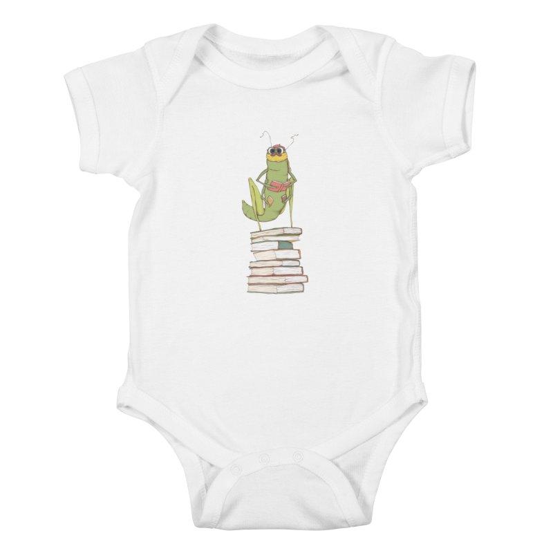 Intellectual Grasshopper Kids Baby Bodysuit by Eggplantation's Artist Shop