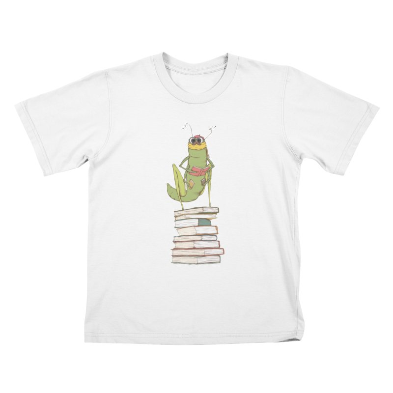 Intellectual Grasshopper Kids T-shirt by Eggplantation's Artist Shop