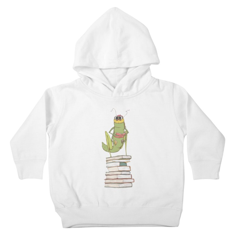 Intellectual Grasshopper Kids Toddler Pullover Hoody by Eggplantation's Artist Shop