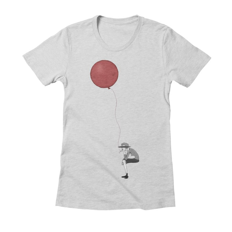 Women's Fitted T-Shirt by Eggplantation's Artist Shop