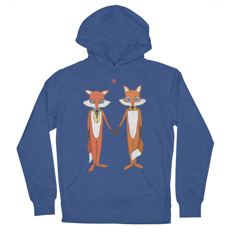 Fox  Women's Pullover Hoody by Eggplantation's Artist Shop