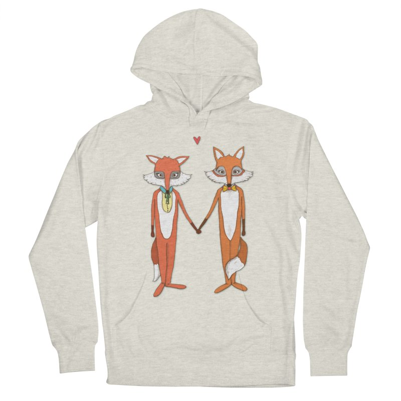 Fox  Women's Pullover Hoody by Eggplantation's Artist Shop