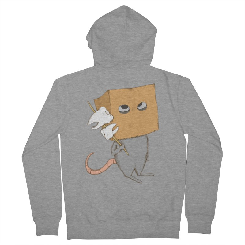 Mr. Toothpick Women's Zip-Up Hoody by Eggplantation's Artist Shop