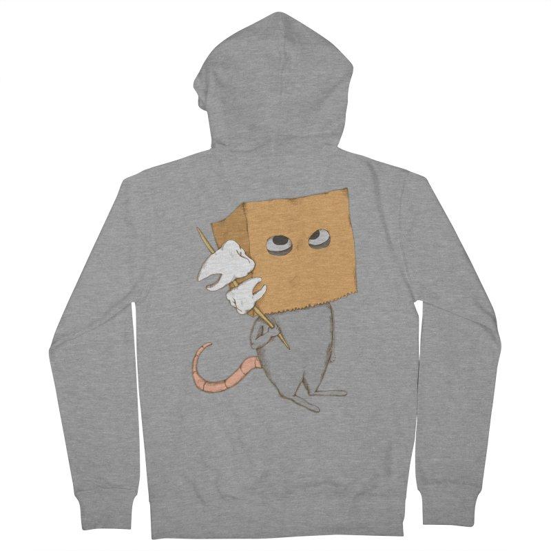 Mr. Toothpick Men's Zip-Up Hoody by Eggplantation's Artist Shop