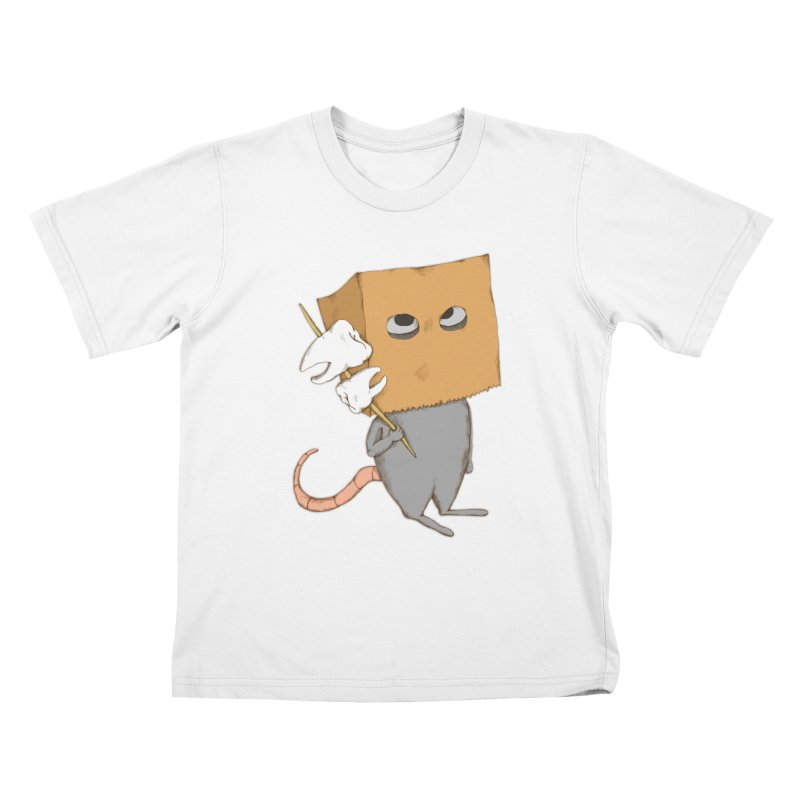 Mr. Toothpick Kids T-Shirt by Eggplantation's Artist Shop