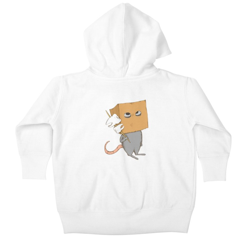 Mr. Toothpick Kids Baby Zip-Up Hoody by Eggplantation's Artist Shop
