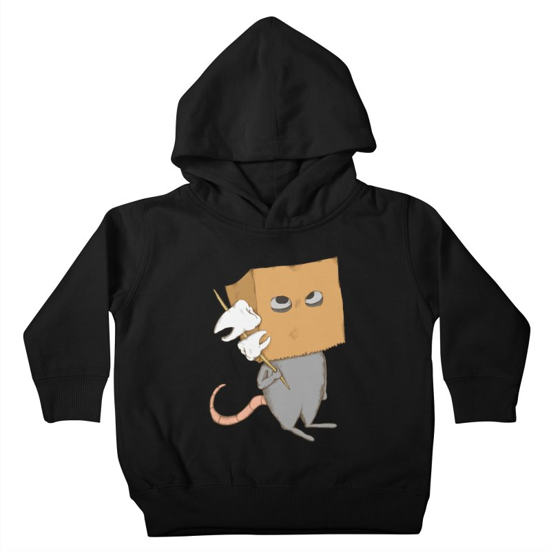 Mr. Toothpick Kids Toddler Pullover Hoody by Eggplantation's Artist Shop
