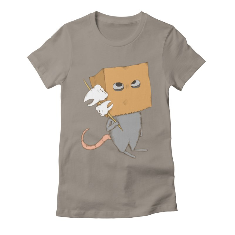 Mr. Toothpick Women's Fitted T-Shirt by Eggplantation's Artist Shop