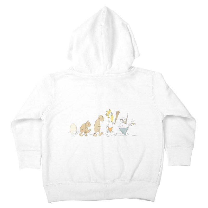 Eggvolution Kids Toddler Zip-Up Hoody by Eggplantation's Artist Shop