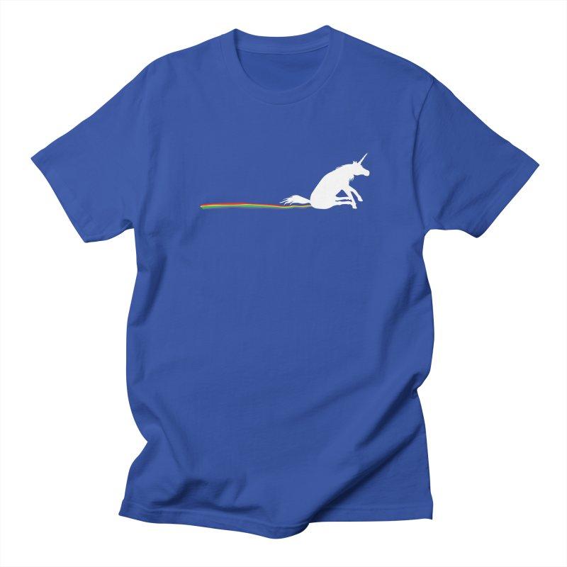 Rainbow Shuffle Men's T-Shirt by eggshellgreen's Artist shop