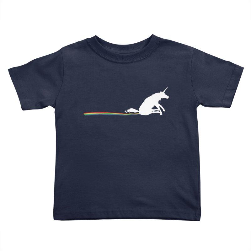 Rainbow Shuffle Kids Toddler T-Shirt by eggshellgreen's Artist shop
