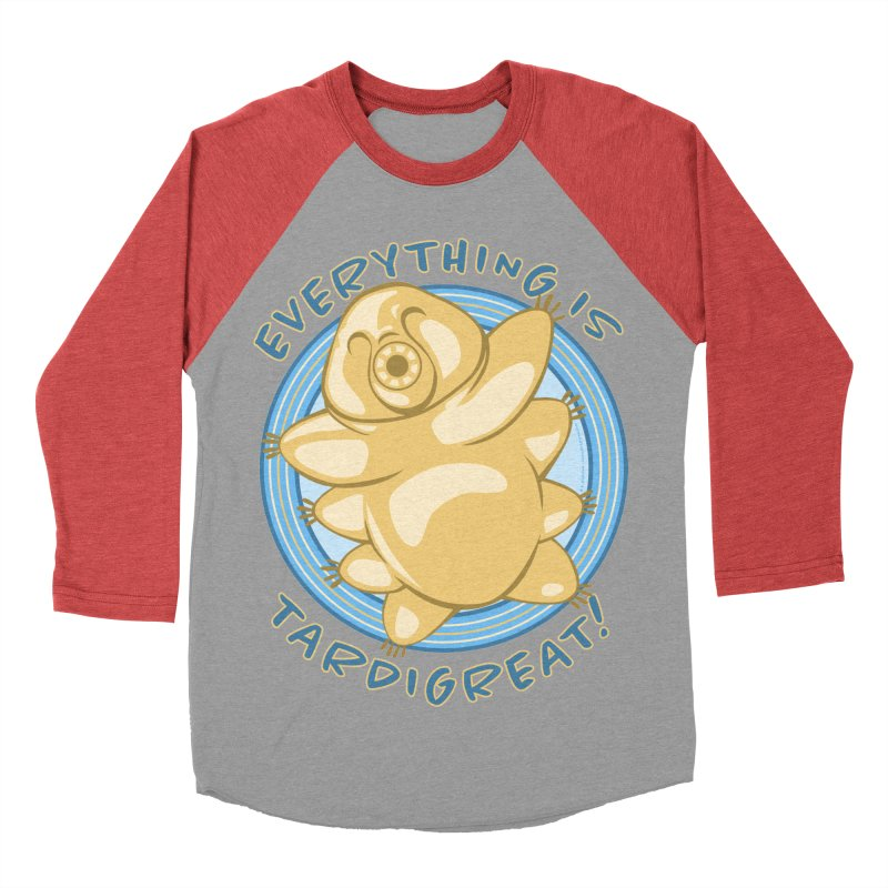 Everything is Tardigreat! Men's Baseball Triblend Longsleeve T-Shirt by EG Creative