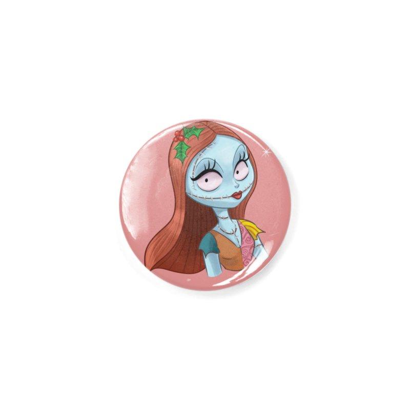 Sally Accessories Button by eglebartolini's Artist Shop