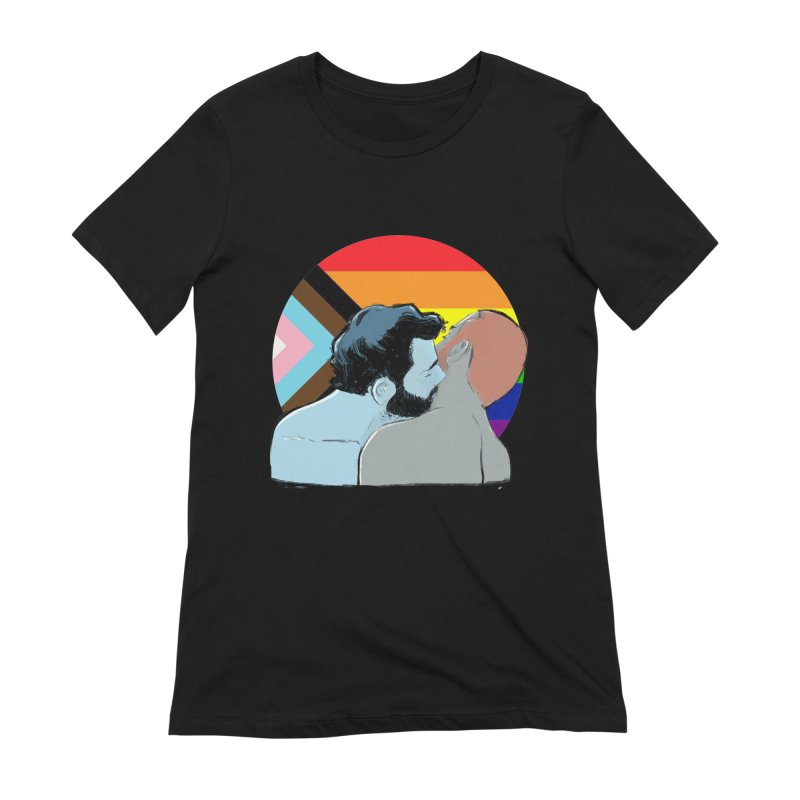 Love Pride Women's Extra Soft T-Shirt by Ego Rodriguez