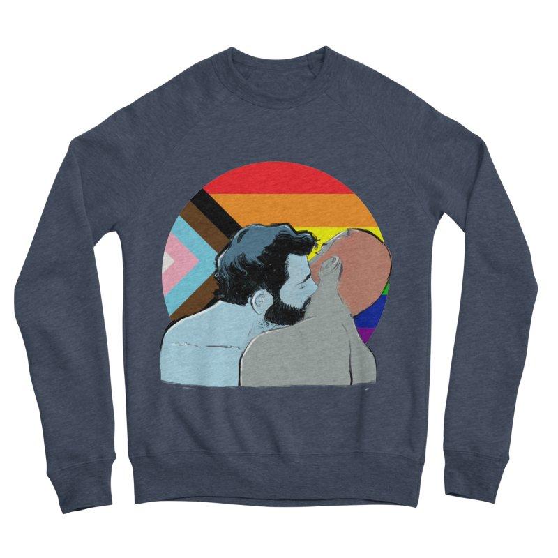 Love Pride Men's Sponge Fleece Sweatshirt by Ego Rodriguez
