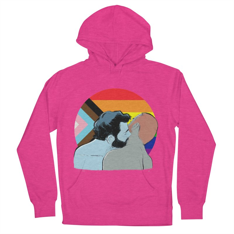 Love Pride Men's French Terry Pullover Hoody by Ego Rodriguez