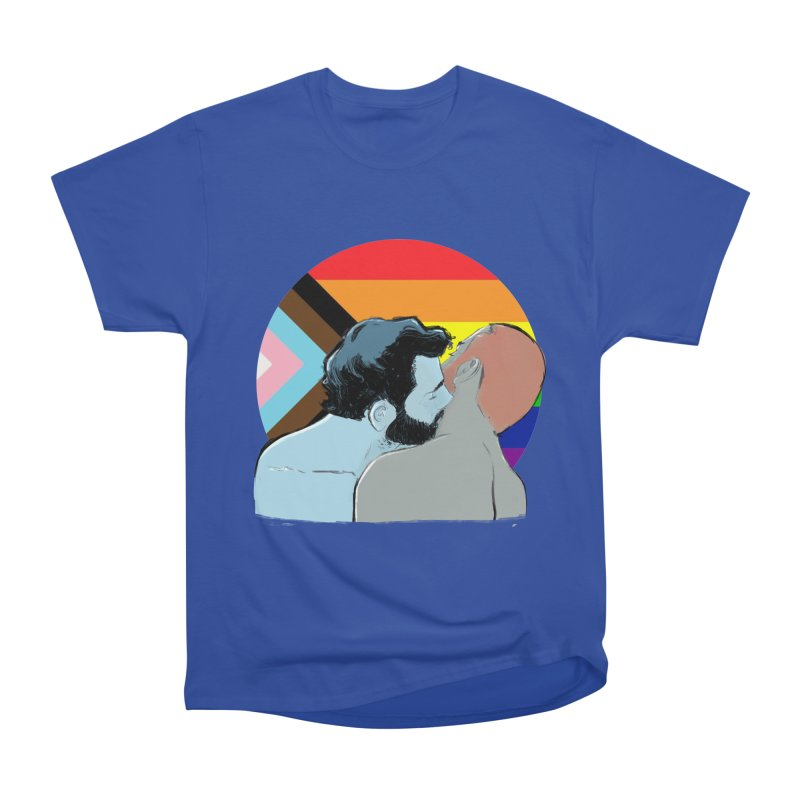 Love Pride Men's Heavyweight T-Shirt by Ego Rodriguez