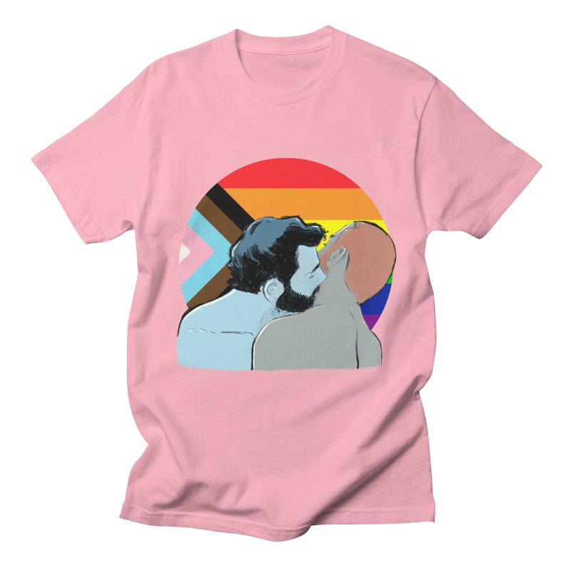 Love Pride Women's Regular Unisex T-Shirt by Ego Rodriguez