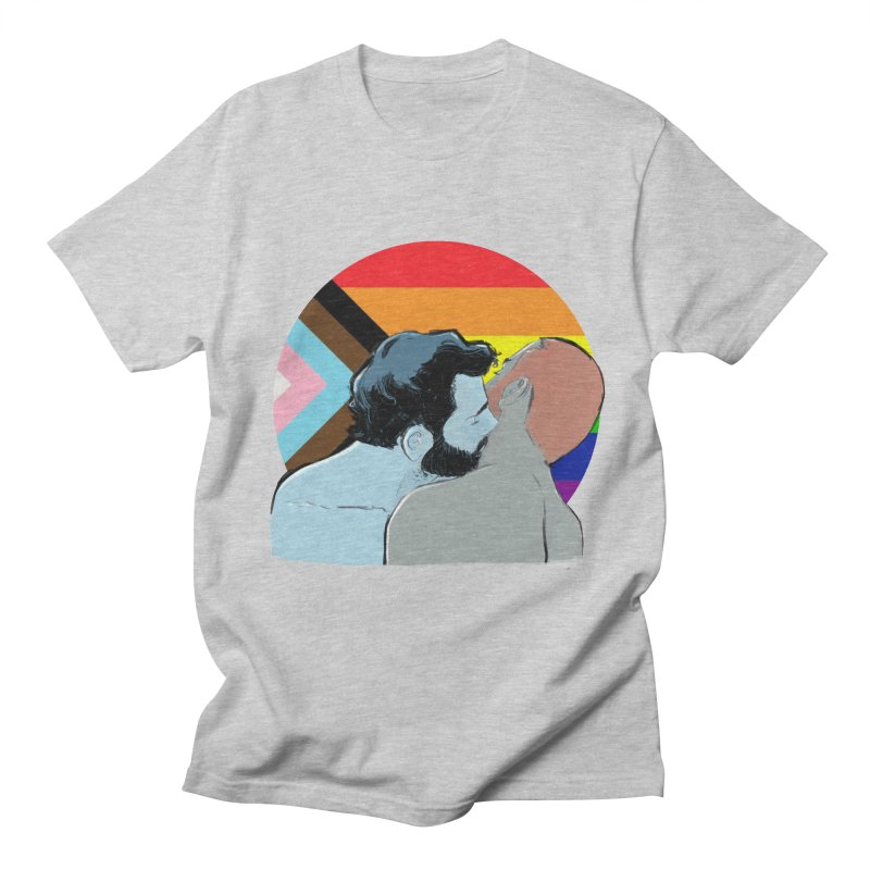 Love Pride Men's Regular T-Shirt by Ego Rodriguez