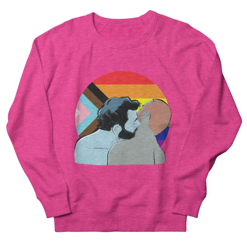Love Pride Men's French Terry Sweatshirt by Ego Rodriguez