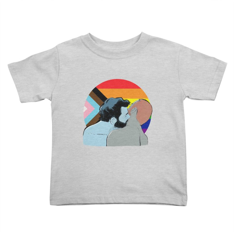 Love Pride Kids Toddler T-Shirt by Ego Rodriguez