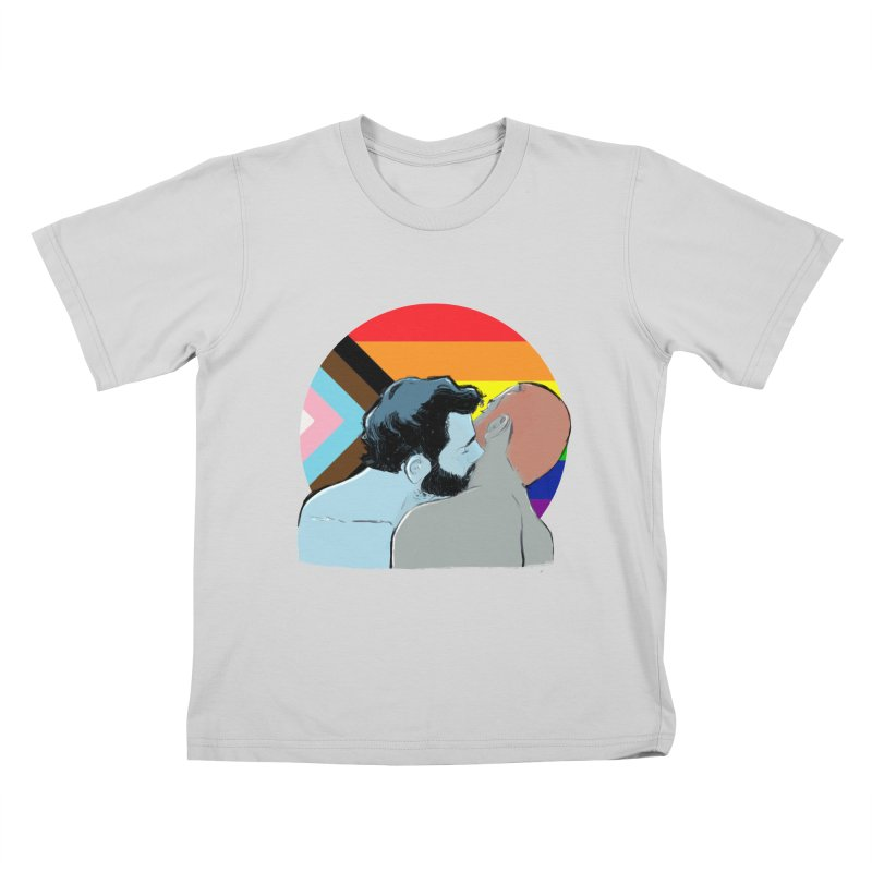 Love Pride Kids T-Shirt by Ego Rodriguez