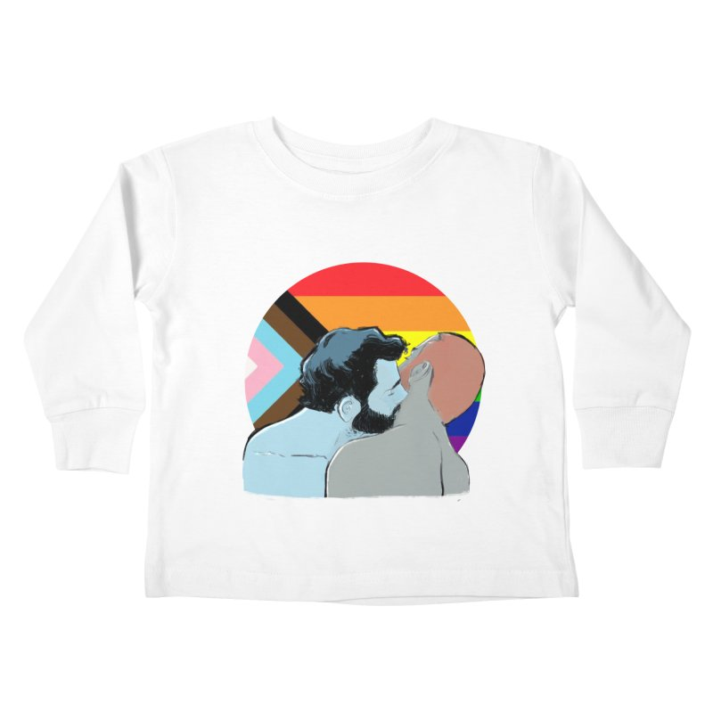 Love Pride Kids Toddler Longsleeve T-Shirt by Ego Rodriguez