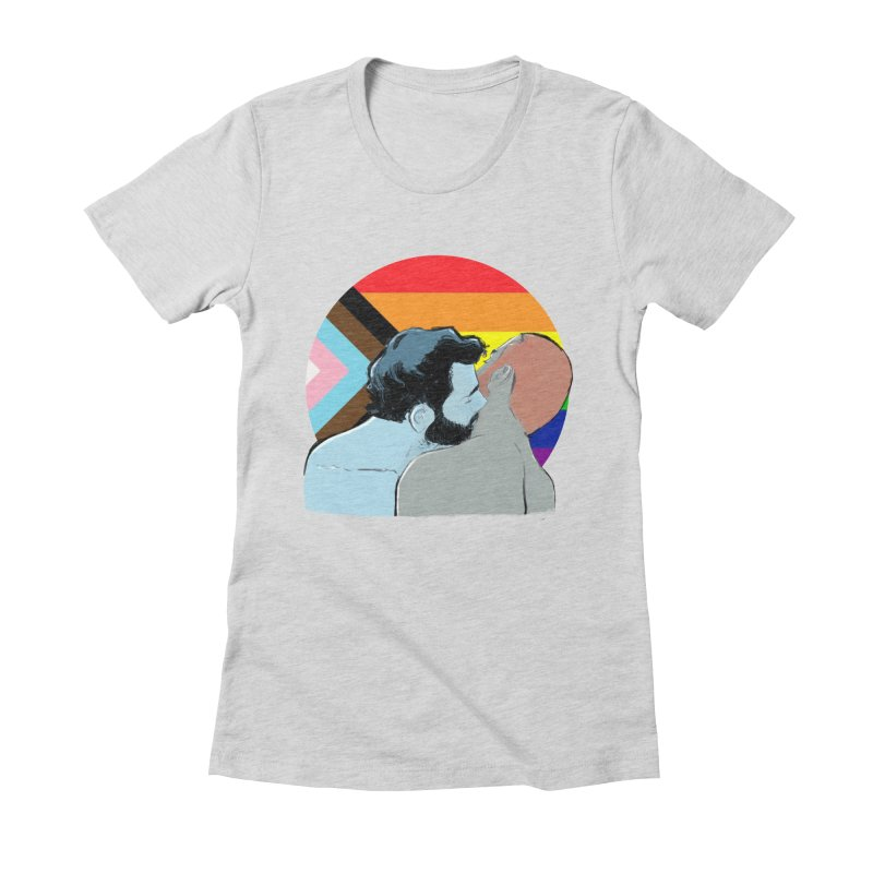 Love Pride Women's Fitted T-Shirt by Ego Rodriguez