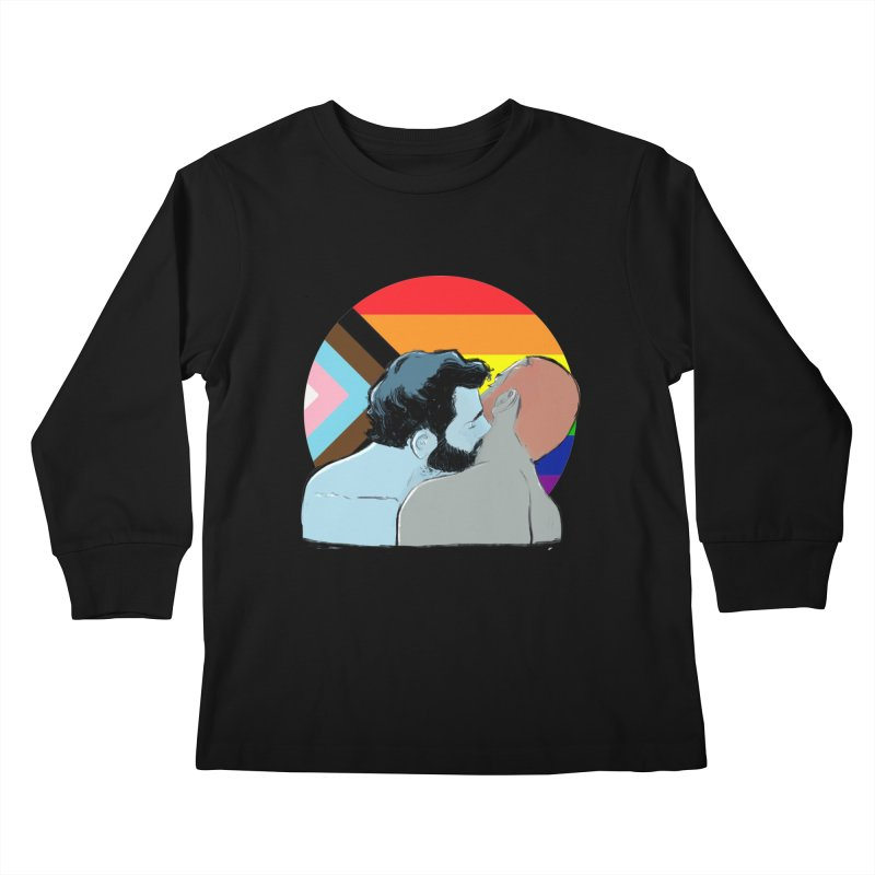 Love Pride Kids Longsleeve T-Shirt by Ego Rodriguez