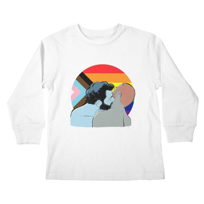 Love Pride Kids Longsleeve T-Shirt by Ego Rodriguez