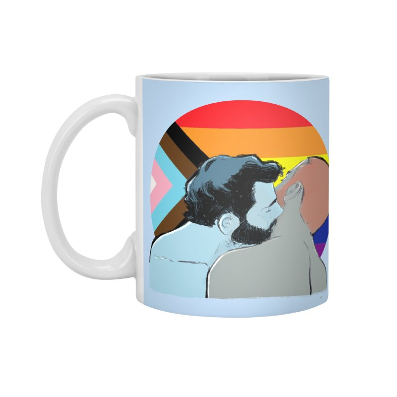 Love Pride Accessories Standard Mug by Ego Rodriguez
