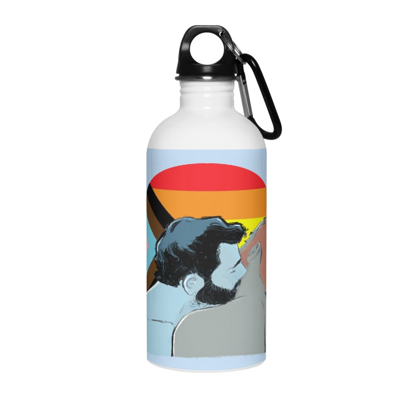 Love Pride Accessories Water Bottle by Ego Rodriguez