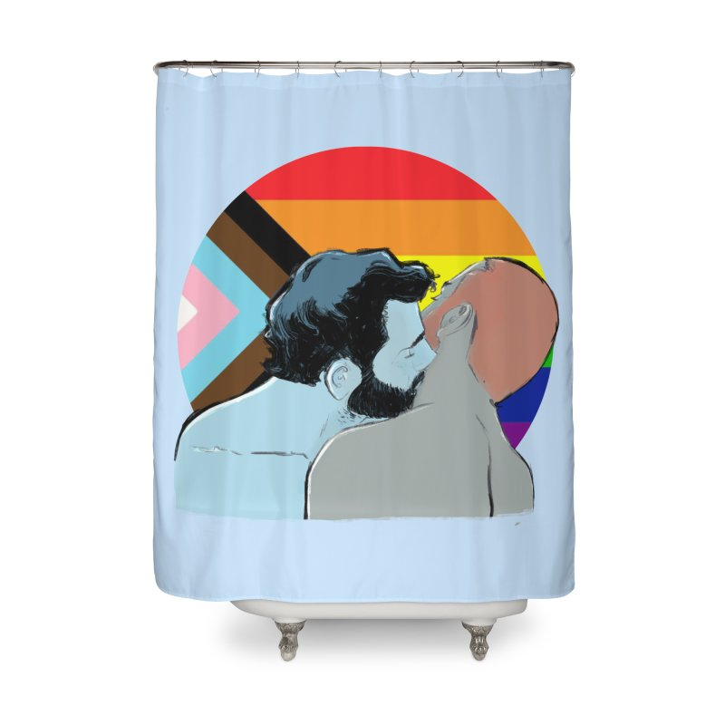 Love Pride Home Shower Curtain by Ego Rodriguez